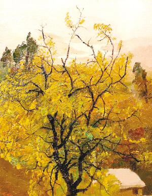 花风景油画作品欣赏