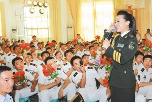 总政歌舞团赴南航部队慰问演出 -海南日报数字报