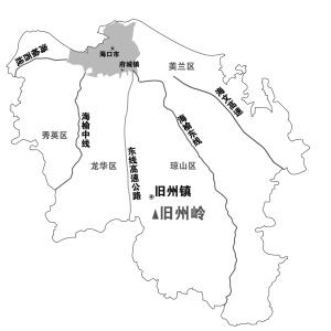 广西至海南地图
