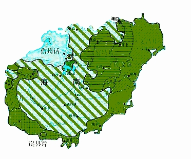 海南方言地图