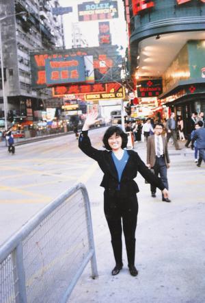 海南日报数字报-八十年代游香港