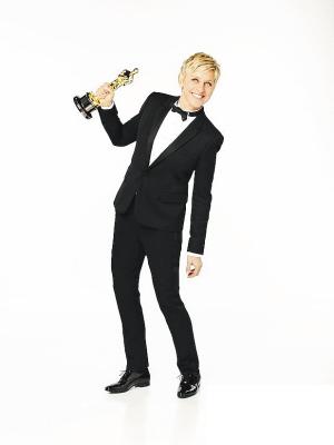 艾伦为今年的奥斯卡颁奖礼拍摄的宣传照