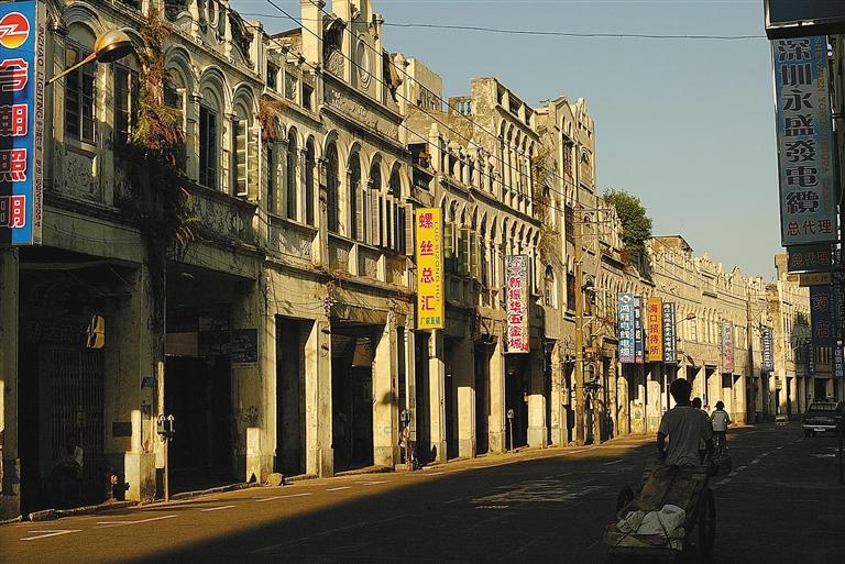海口市中山路老街上曾挤有许多家侨批局