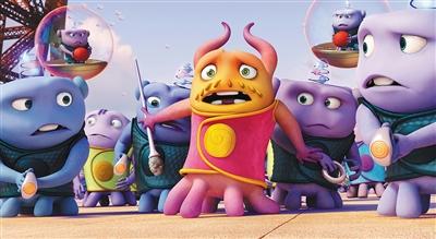 梦工厂动画片《疯狂外星人》北美票房登顶
