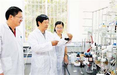 位科研工作者共同完成的南药种质资源收集保存鉴定评价与开发利用项目