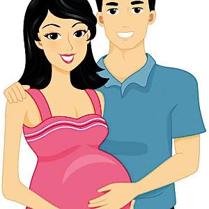 怀孕头晕图片可爱