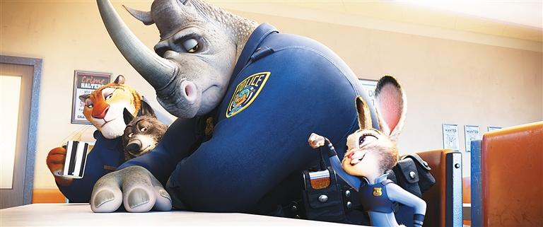 (记者张超群)迪士尼3d动画片《疯狂动物