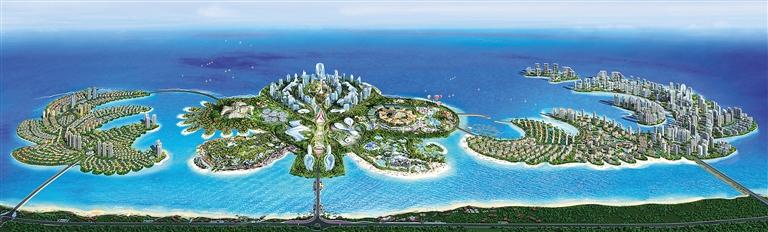 投资1600亿元的恒大海花岛项目是儋州旅游地产大手笔.