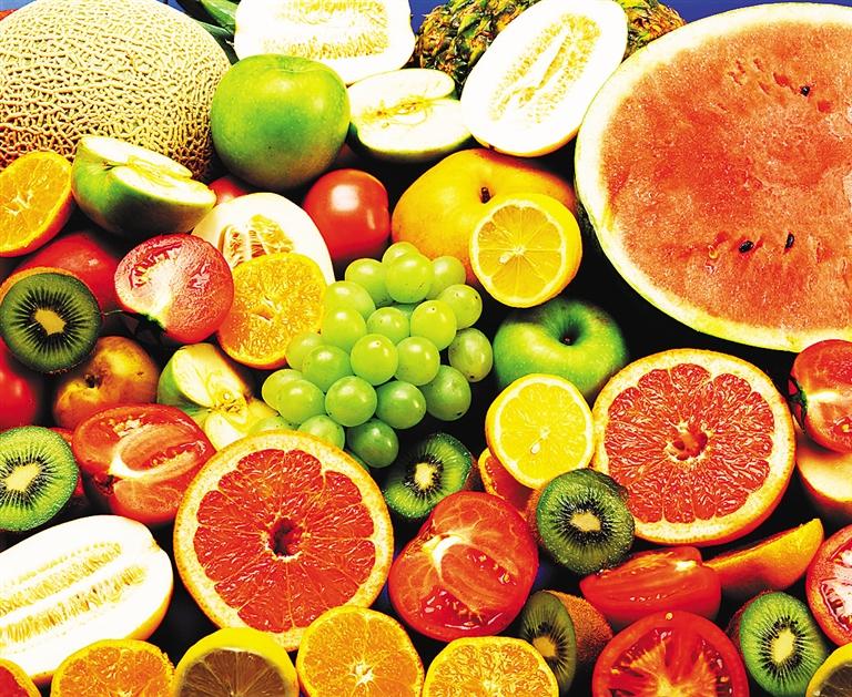 素描解剖结构水果