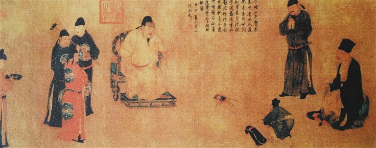 海南日报数字报-古代皇帝如何过中秋节?图片