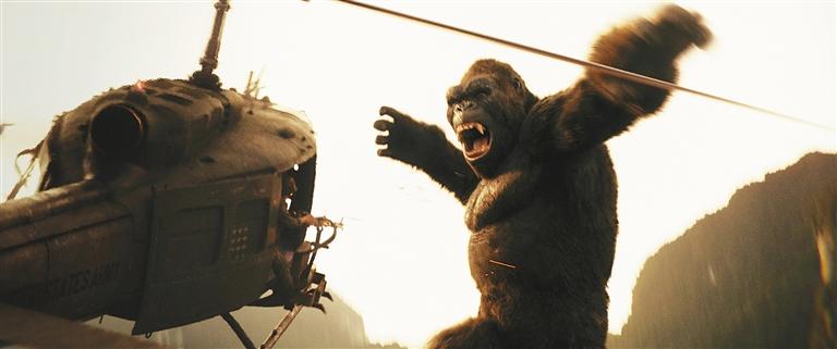 《金刚:骷髅岛》3天票房5亿元