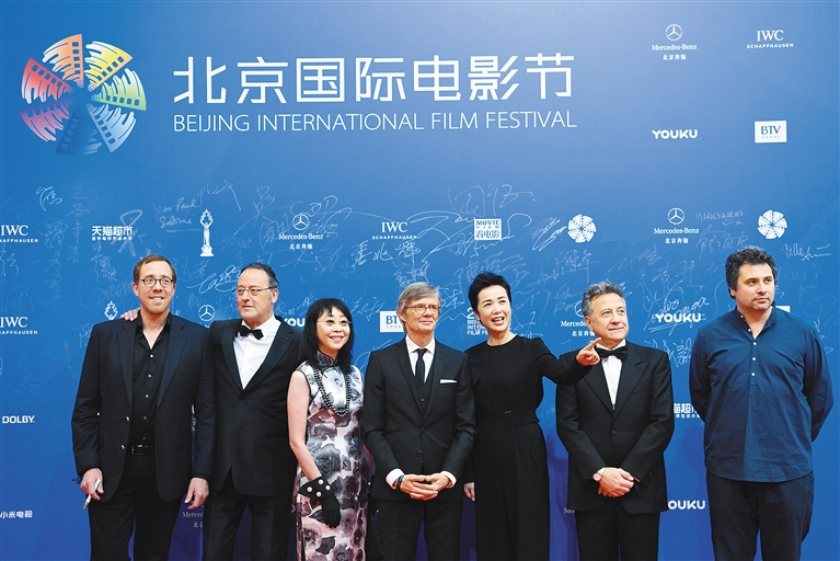 第七届北京国际电影节开幕图片