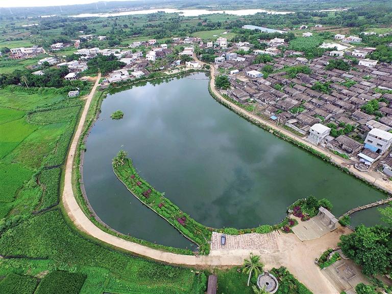 农村鱼塘设计效果图