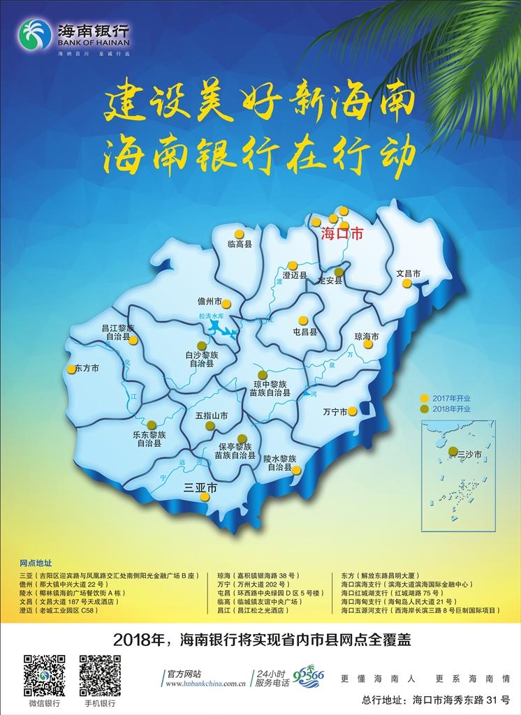 海南银行广告