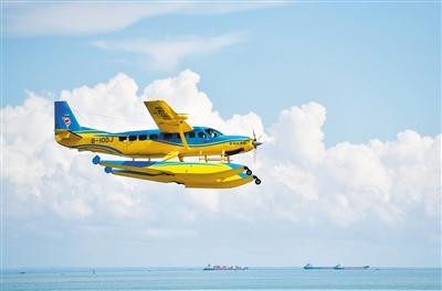 记者了解到,未来乘坐水上飞机跨越琼州海峡不超过20分钟.