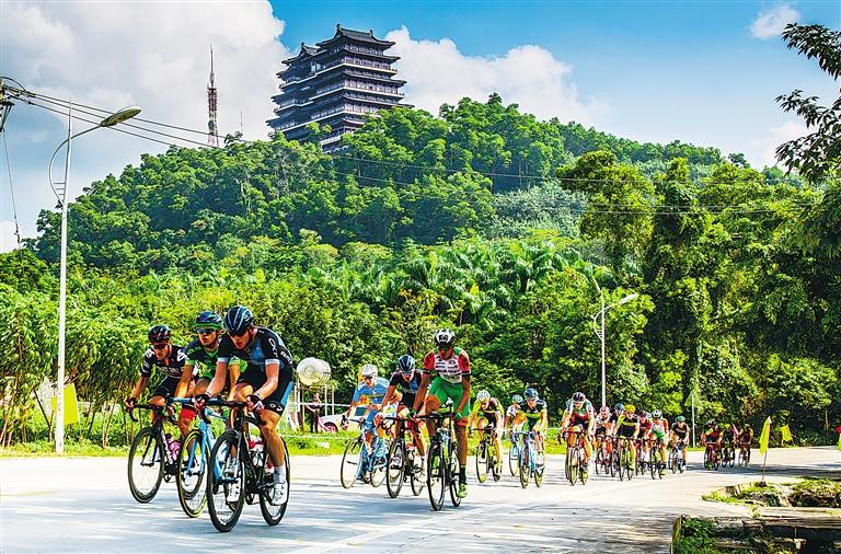 """儋州明年将成为自行车环岛赛""""东道主"""""""