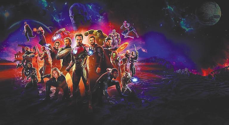 《复仇者联盟3》海报