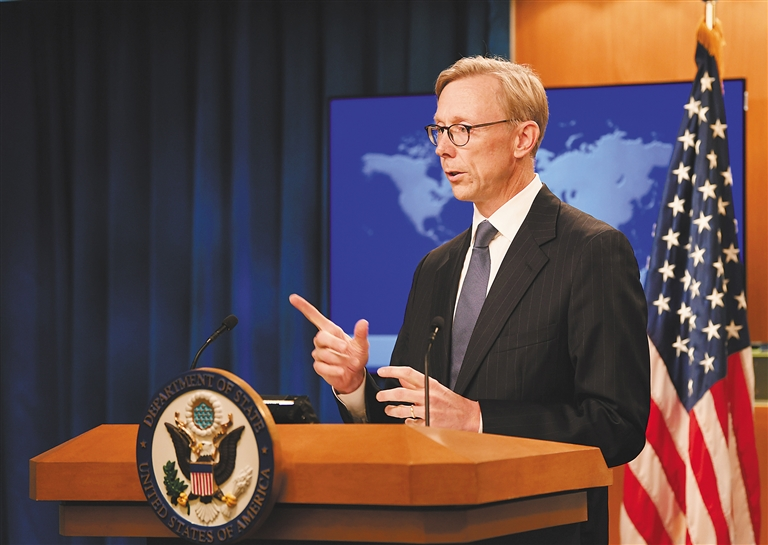 美国务院三把手将率团访台,中方表示坚决反对