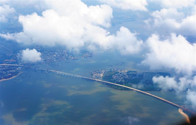铺前大桥主桥顺利合龙,打破我国桥梁建设史多项纪录