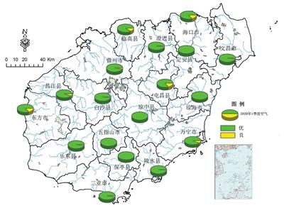 2020年第一季度海南省生态环境质量公报