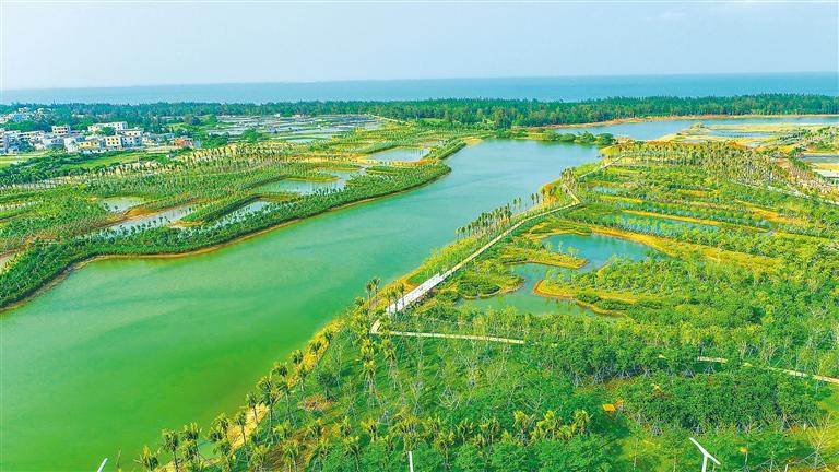 水清岸绿 风景如画(图1)